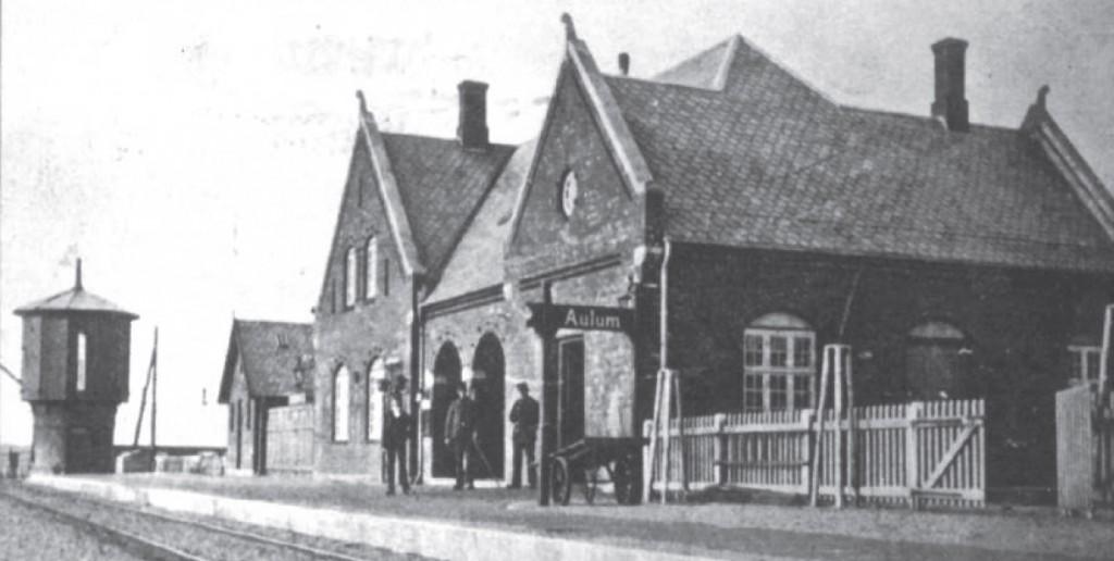 foto af Aulum Station 1905