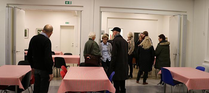 foto fra Åbent hus i STATIONEN